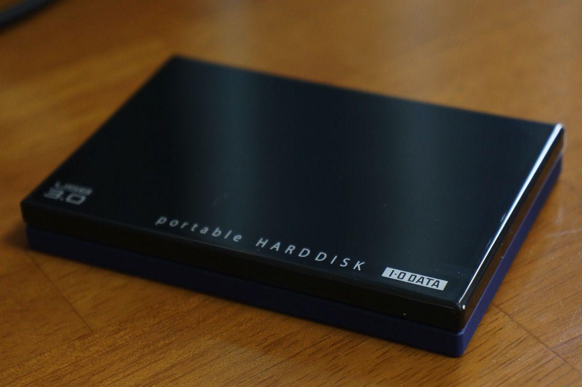 カクうす ポータブルHDD1