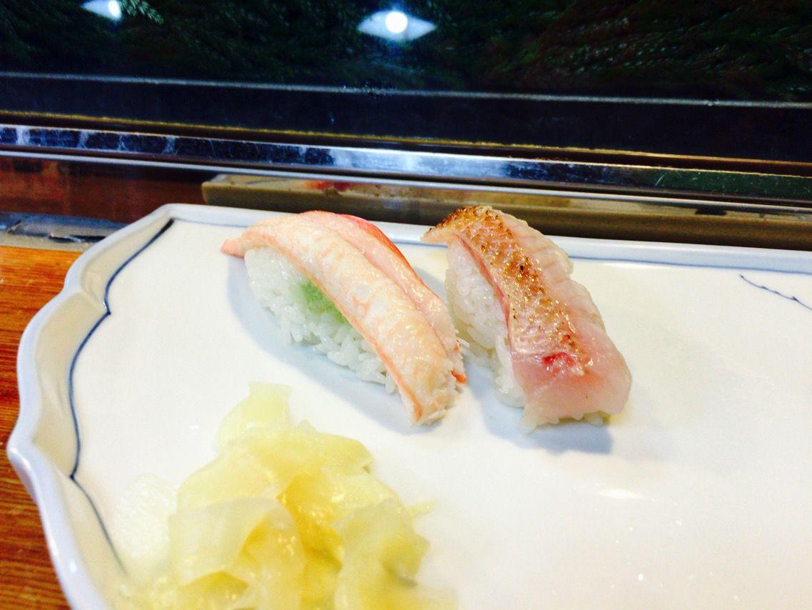 千代寿司 カニ のどぐろ