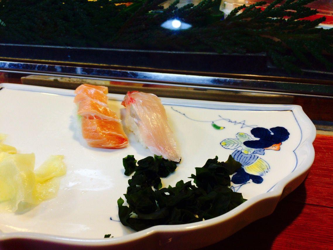 千代寿司 さわらのそで カンパチ