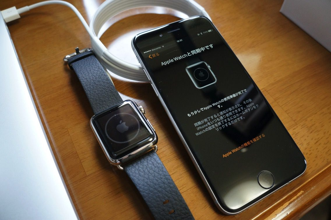 Apple Watch 同期