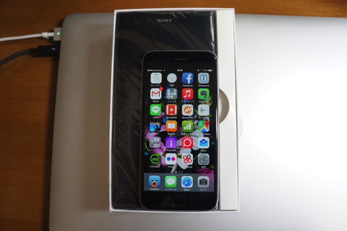 IPhone 6とXperia Z Ultraとの比較