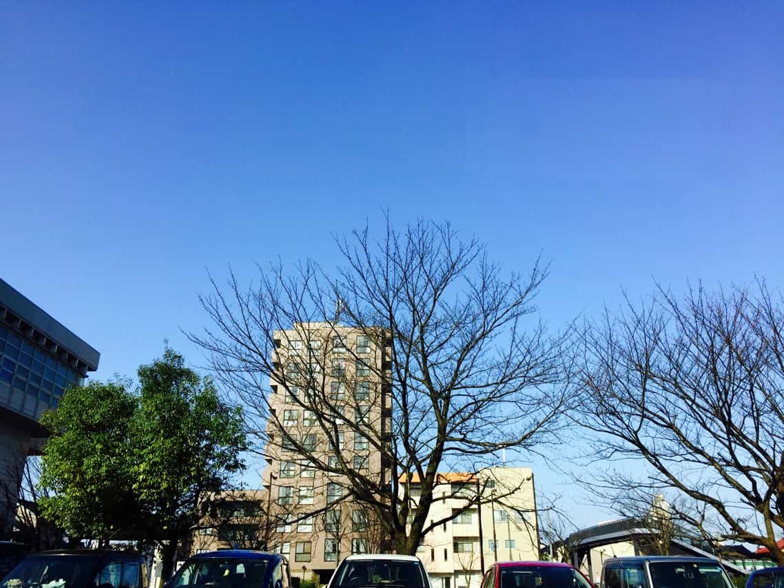 金沢市 快晴