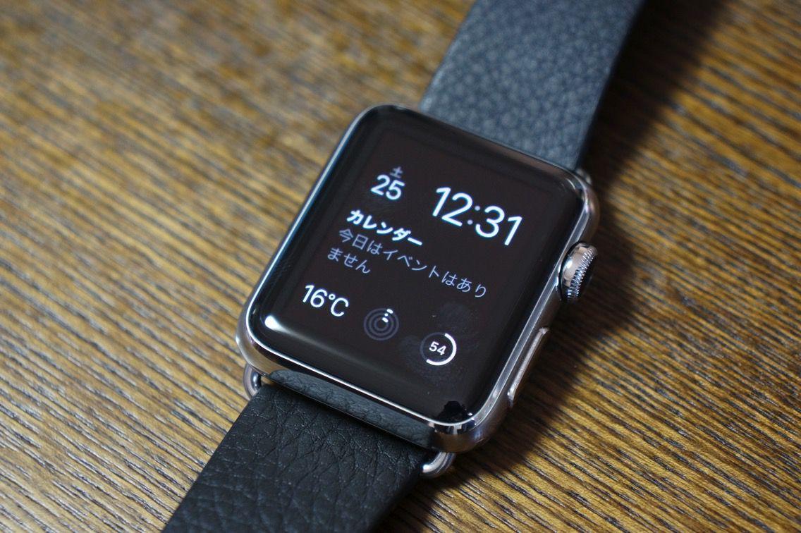 Apple Watch 電池残量