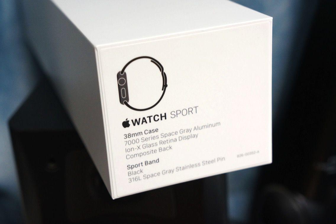 Apple Watch モデル表記