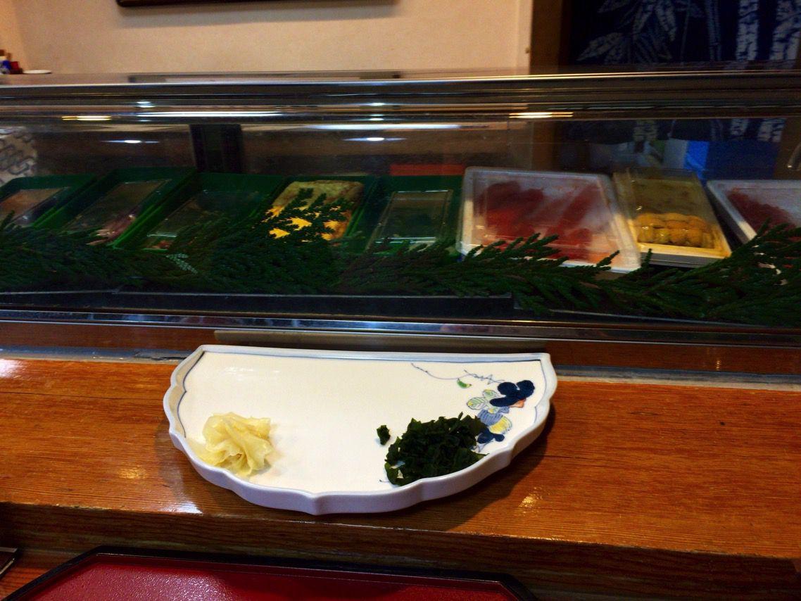 千代寿司 カウンター