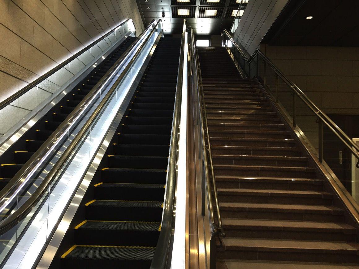 東京証券取引所 階段