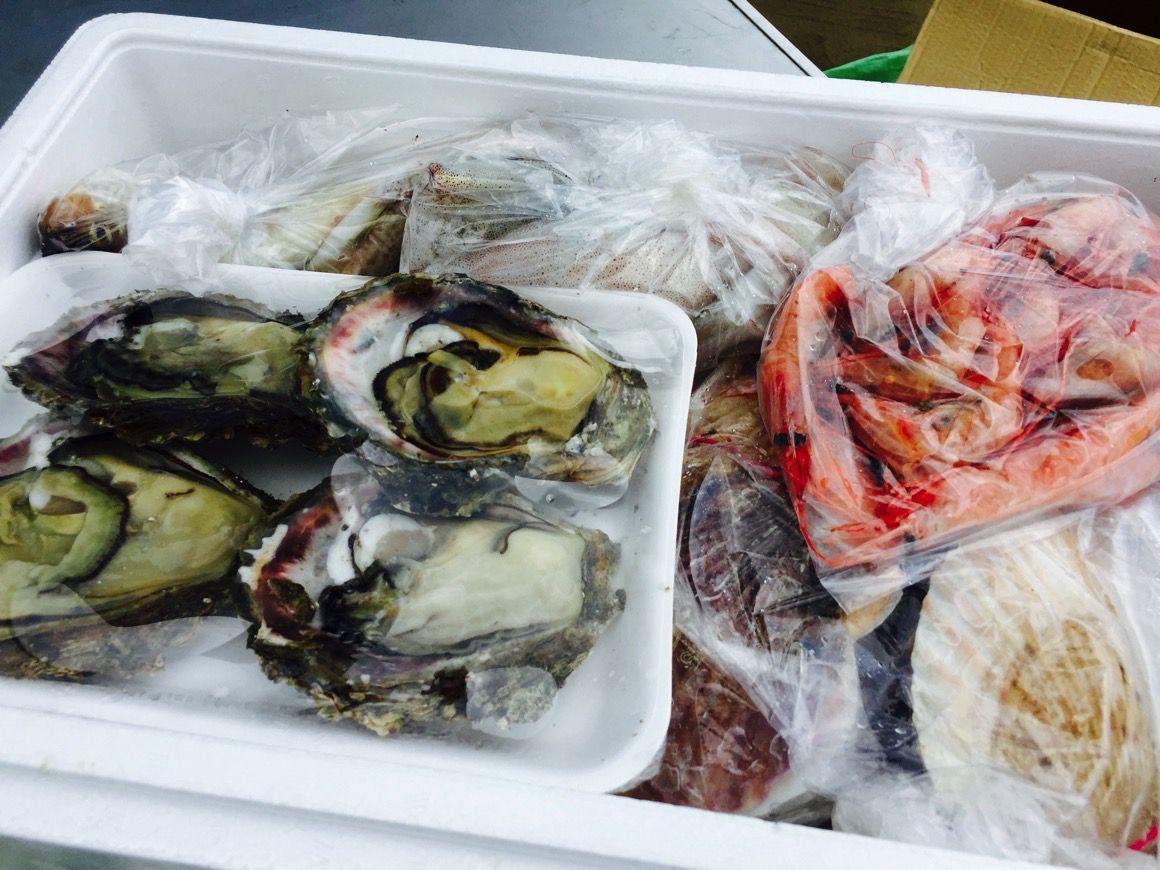 金沢港いきいき魚市 購入