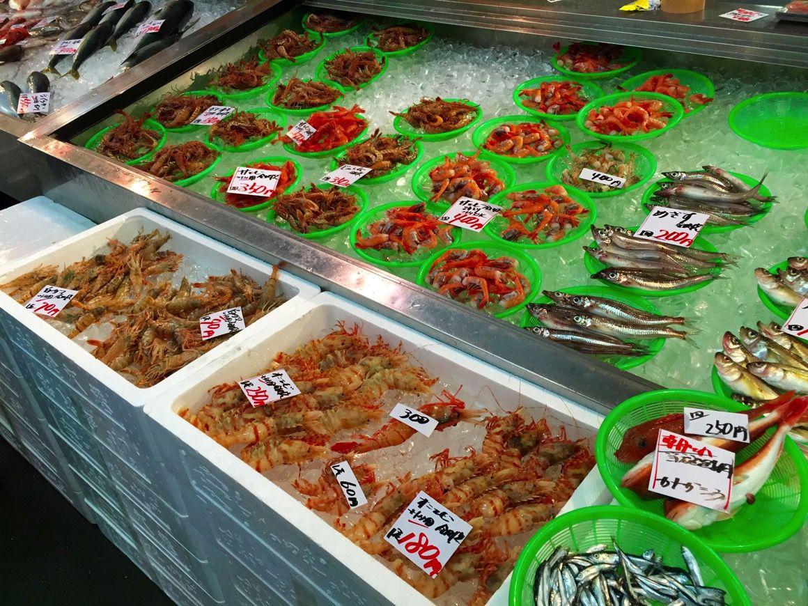 金沢港いきいき魚市 並び