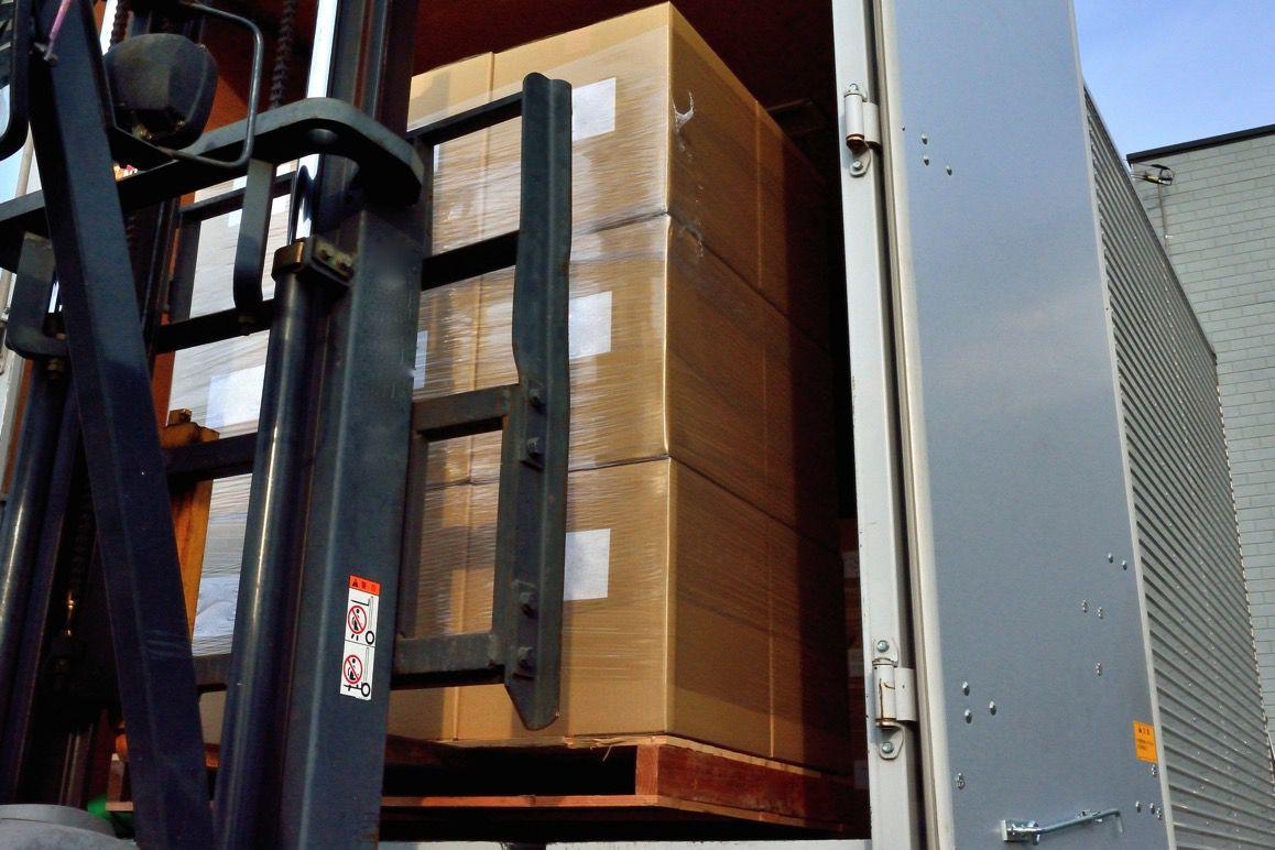 荷物を海外に発送