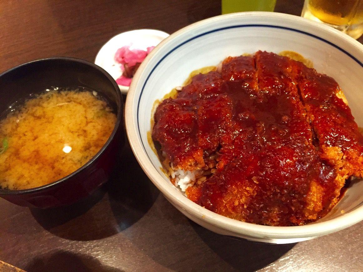 矢場とん 味噌カツ丼単品