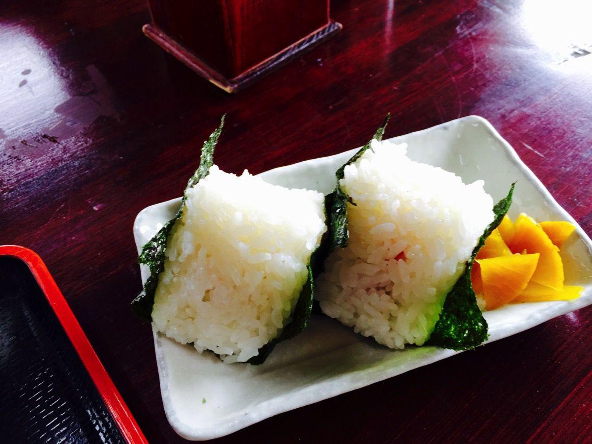 山崎製麺 おにぎり