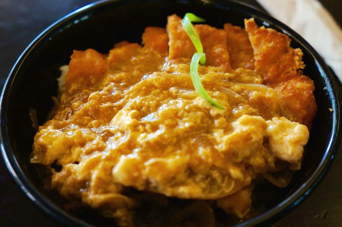 FUJINOYAのカツ丼
