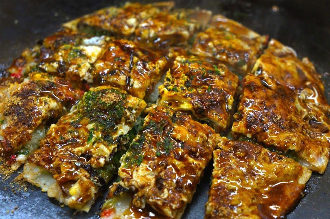 [金沢グルメ]予約必須のねぎ焼き店!片町の『京祇園ねぎ焼 粉』が旨すぎて店長に「よく食べるね」って言われるくらい食べた