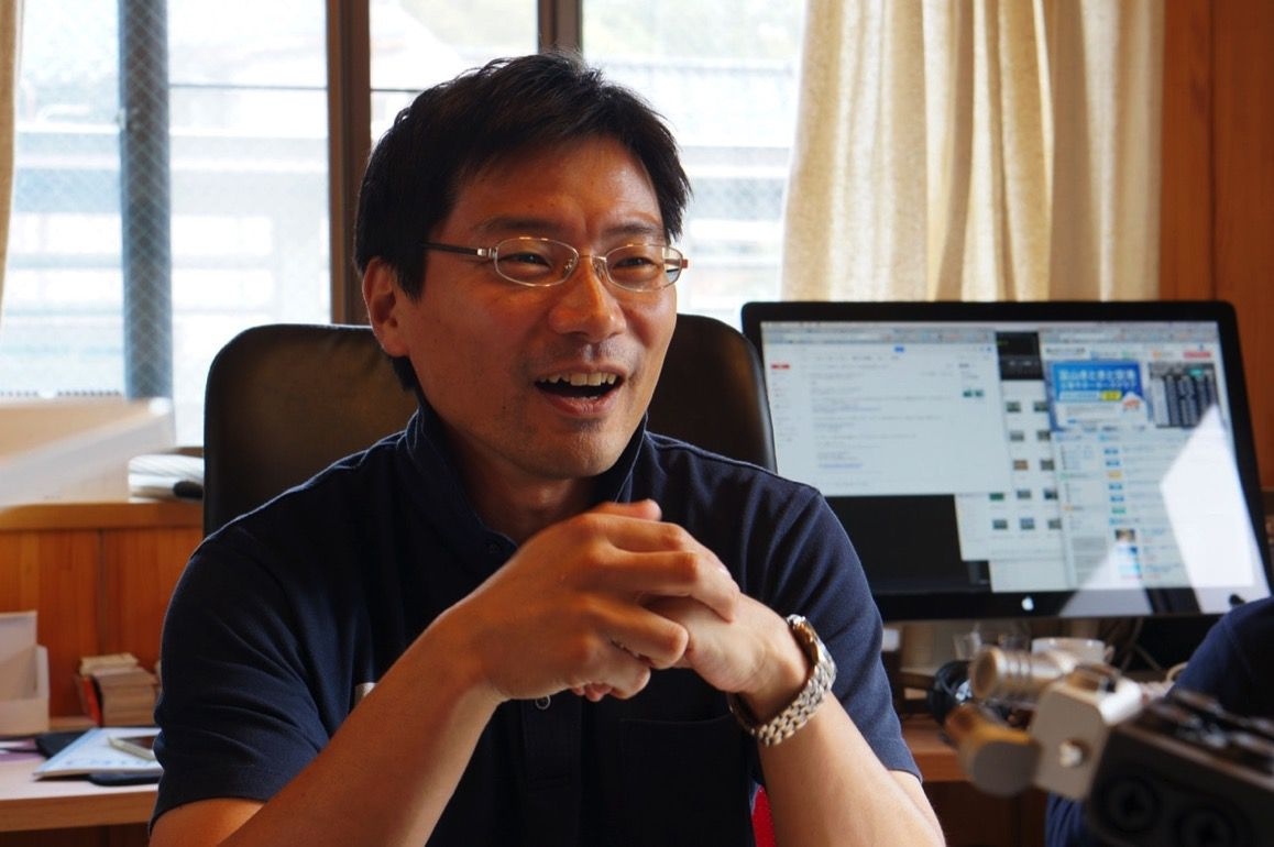 ハピログ 代表取締役 中林秀仁