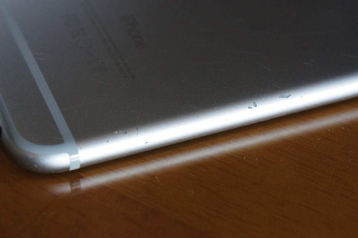 IPhone6の傷