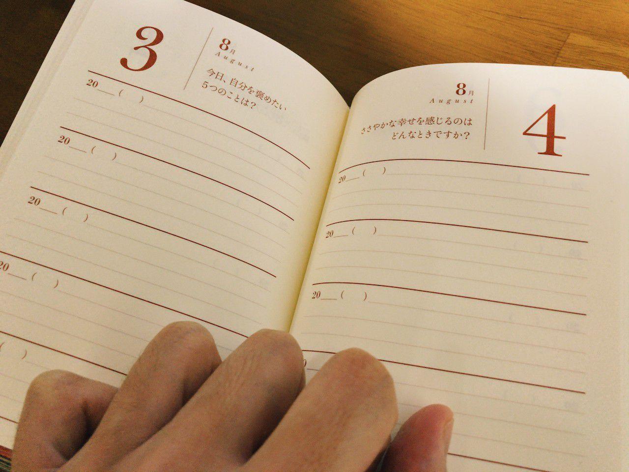 5年Q&A日記の内容