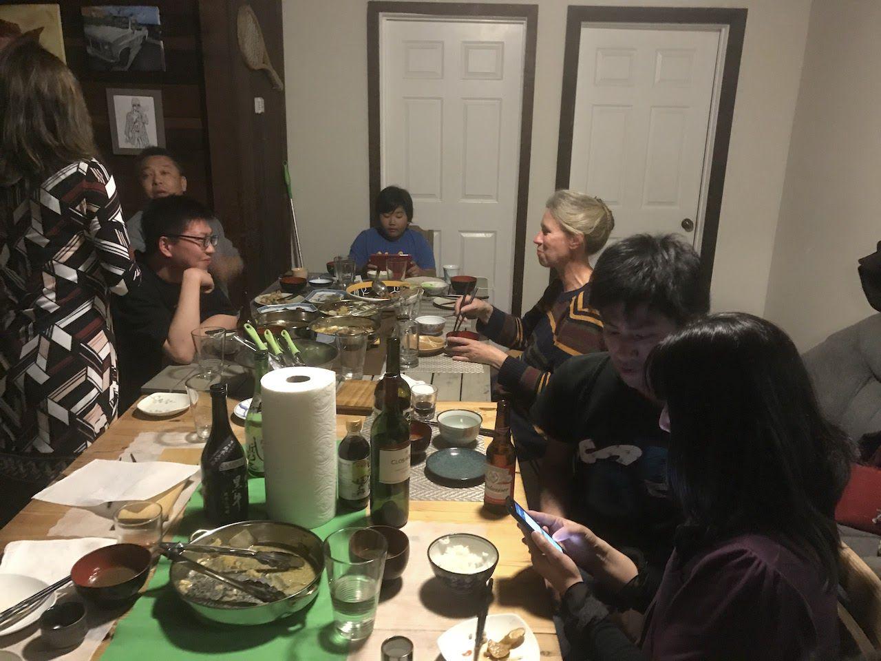 とり白菜鍋パーティー