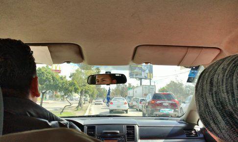 ロサンゼルスの渋滞